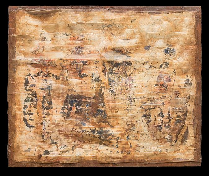 Cuadro único y exclusivo de Mariano Matarranz de la Colección Luz Coagulada Año 2018. 180 x 216