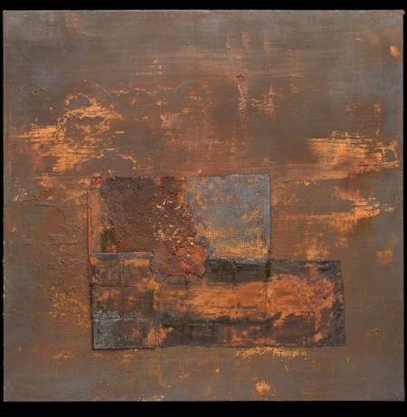 Cuadro único y exclusivo de Mariano Matarranz de la Colección Rígida Levedad Año 2017. 245 x 250