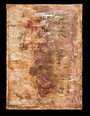 Cuadro único y exclusivo de Mariano Matarranz de la Colección Luz Coagulada decimocuarto trilogia 1 cuadro de la exposición Año 2018. 160 x 100 - colección de cuadros luz coagulada