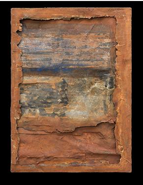 Cuadro único y exclusivo de Mariano Matarranz de la Colección Rígida Levedad Año 2017. 160 x 116